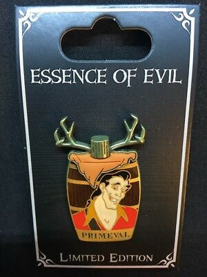 Disney Parks Essence Of Evil Gaston Beauty And The Beast Pin LE