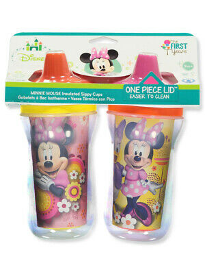 Minnie Mouse 2-Pack Insulated Sippy Cups (9 oz.)