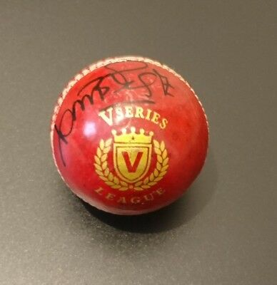 Curtly Ambrose West Indies cricket signed Cricket Ball AFTAL PROOF