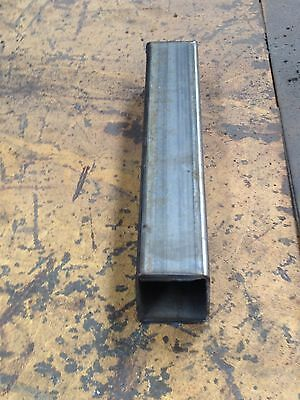 "STEEL SQUARE TUBING  2""x 2""x 11 GA x 60"" long 5 ft"