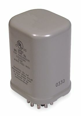 Dayton Hermetically Sealed Plug In Relay, 11 Pins, Octal Base Type, 12A @