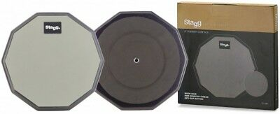 """Stagg 8"""" Rubber Drum Stick Practice Pad TD-08R"""