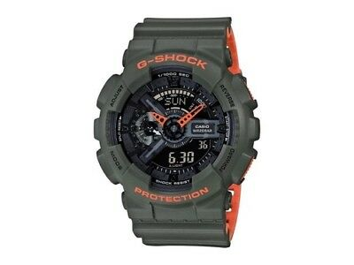 Brand new Casio G-Shock GA110LN-3A Anti-Magnetic Layered Neon Color Resin Watch