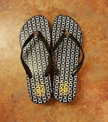 77ff8212d6f Tory Burch  Gemini Link  Wedge Platform Flip Flop Sandals Womens 11 M MSRP   68