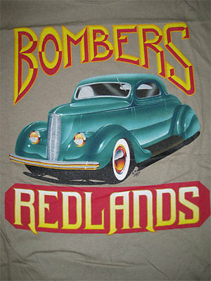 Alton Kelley _RARE_ Original Shirt Redlands Bombers Hot Rod VTG XL Grateful Dead