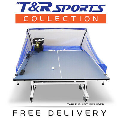 Double Fish Table Tennis Training Robot for Expert Beginner Free 100 Balls & Net