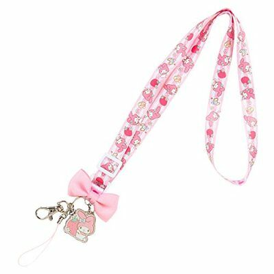 My Melody neck strap (strawberry) japan #R3263 F/S