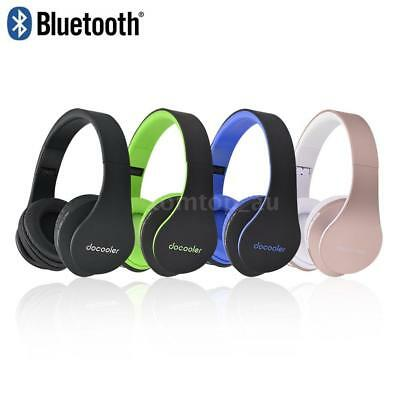 4in1 Foldable Bluetooth Headphone Wireless Stereo Headset MIC for iPhone Samsung