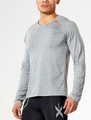 2Xu Urban Long Sleeve Top Men's Large Grey