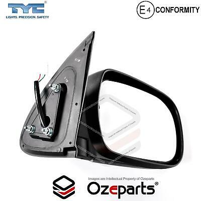 RH RHS Right Hand Electric Door Mirror Chrome For Toyota Hilux Ute 2WD 4WD 05~10