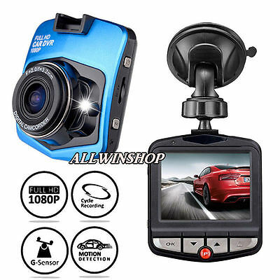 "HD 1080P Dash Cam Video Recorder night vision Mini 2.4"" Car Camera Vehicle DVR K"