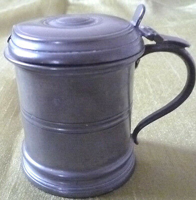 Pewter Mustard Pot-No Spoon No Bottom