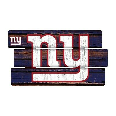 New York Giants Defense Holzschild XL  63 cm ! !,NFL Football,Fence Sign