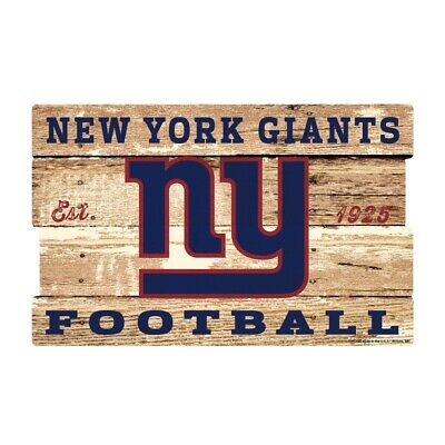 New York Giants XXL Holzschild 76 cm ! !,NFL Football,Plank Wood Sign