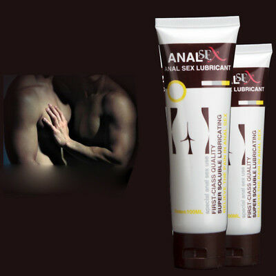 Anti-pain Water-based Lubricant Body Massage Sex Vaginal Anal Lube Unisex Pretty