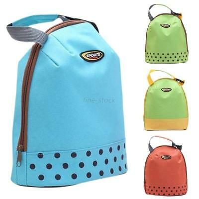 Kid Thicker Insulated Warm Cool School Lunch Bag Adult Office Food Storage Bag