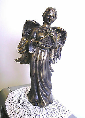 ANGEL - lovely Bronze & Gold coloured -  hand crafted