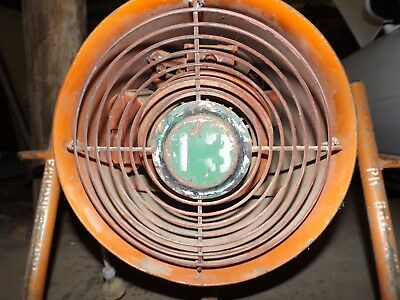 Fanquip Industrial Ventilation / Extraction Tube Fan - Workshop / Cooling