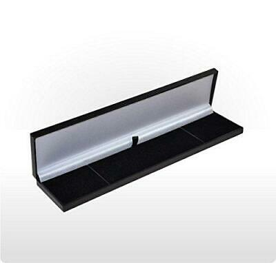 Slim Leatherette Jewellery Gift Box: Satin-lined for Bracelet 1 or 4