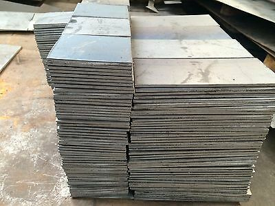 "3/4"" .750 HRO Steel Sheet Plate 8"" x 10"" Flat Bar A36 grade"