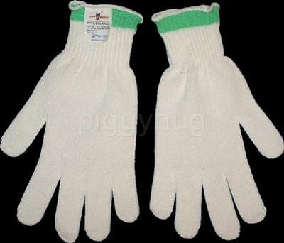 pair spectra cut resistant gloves Tuff Shield USA by Perfect Fit  new white