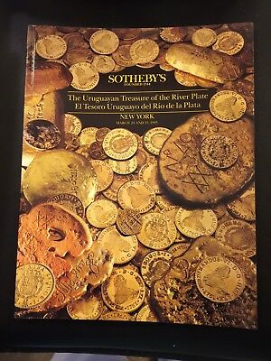 SOTHEBY'S URUGUAYAN TREASURE of the RIVER PLATE Coins Shipwreck Catalog 1993