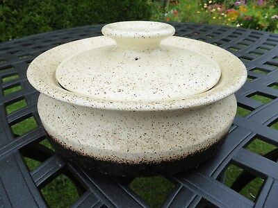 Iden Pottery, Rye REDUCED retro tureen and lid excellent condition