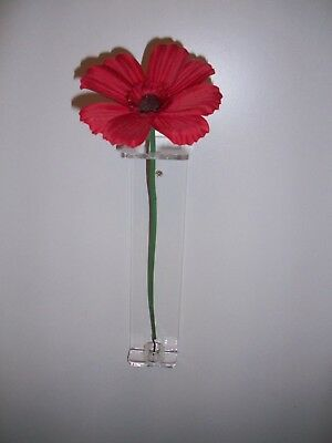 Tower Of London Poppy Stand Poppy Display Wall Mount Clear Acrylic