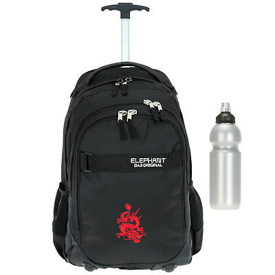 Trolley ELEPHANT HERO SIGNATURE Schultrolley Schulrucksack Motiv 12646 DRAGON +f