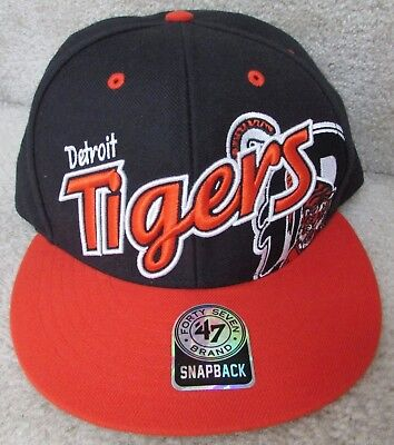 DETROIT TIGERS NEW Women s Team Glimmer Captain Snapback Hat . MLB ... 2e5ff6be29a