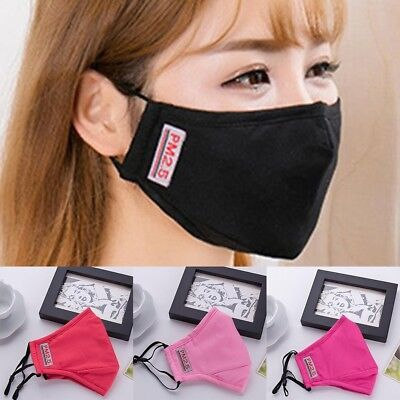PM2.5 Adults's Mask For Anti-smog Anti-Dust Of N95 Activated Carbon Face Mask