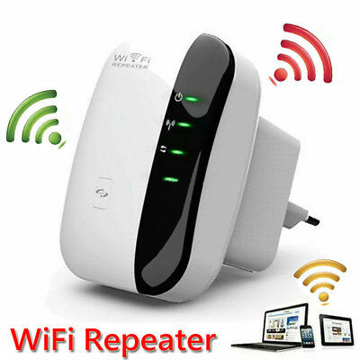 New Wireless-N Mini Wifi Repeater Network 300Mbps Range Extender Booster Routers