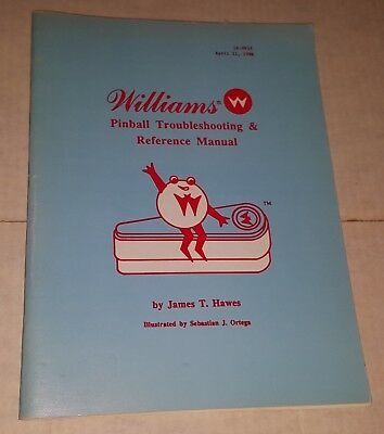 Williams - Pinball Troubleshooting & Reference Manual - April 1986