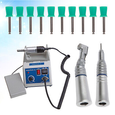Dental Lab Marathon Polisher Electric Micromotor 3.5K RPM MOTOR Handpiece 100Cup