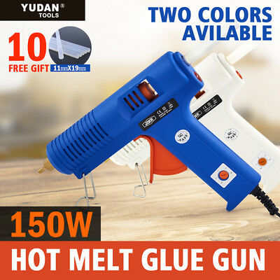 150W Hot Melt Glue Gun Electric Heating Craft scrapbook +10/22/34/46 Glue Sticks