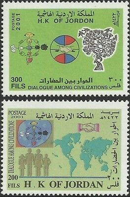 Jordan 2001 Joint Issue Dialogue Among Civilizations United Nations Dialogo