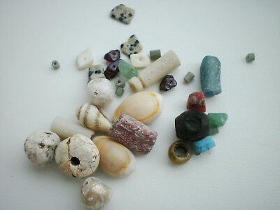 Beautiful Set RARE ANCIENT Viking BEADS Different Colors 7 - 9 century AD №2
