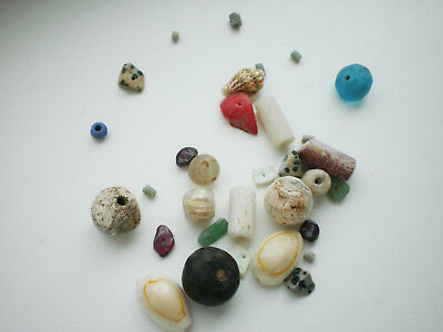 Beautiful Set RARE ANCIENT Viking BEADS Different Colors 7 - 9 century AD №6