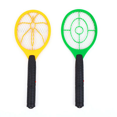 Electric Shock Mosquito Double Circular Swatter Hit Pest Insect Killer