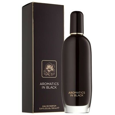 Clinique AROMATICS ELIXIR in Black EDP 50ml SP New in Boxed Authentic