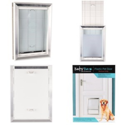 Extreme Weather Pet Door Dog Doors Exterior Cat Entry Medium Dogs Heavy Duty New