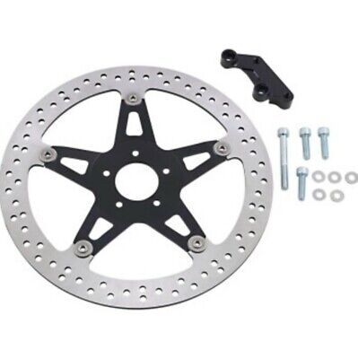 "Arlen Ness Right Side 14"" Front Big Brake Rotor Kit 00-2007 Harley FLT Touring"
