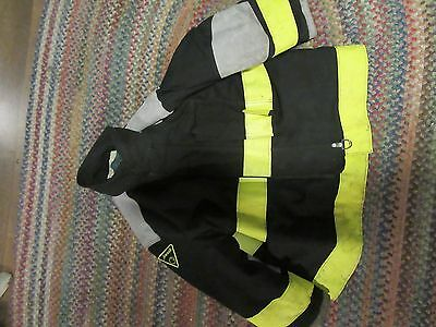 KEVLAR Janesville  Lion Apparel Firefighter Jacket turnout 48 x 29 zip out liner