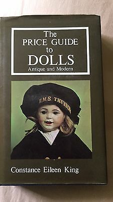 The Price Guide To Dolls Antique & Modern Byconstance Eileen King Hard Hardcover