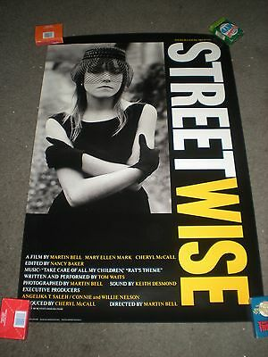 Streetwise - Original Rolled Poster - 1984 Documentary