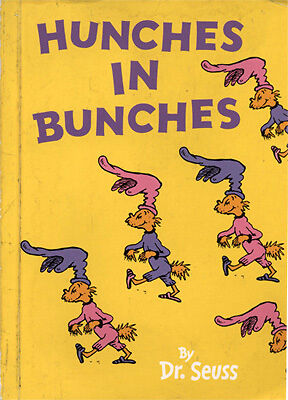 DR. SEUSS - Hunches in Bunches (Mini Edition, 2005)