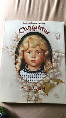 Charakter Puppen Album 4 By Lydia & Joachim F Richter Hard Hardcover Beautiful!