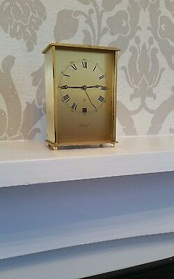 Vintage Swiss Imhof 8 day/date 15 jewels clock