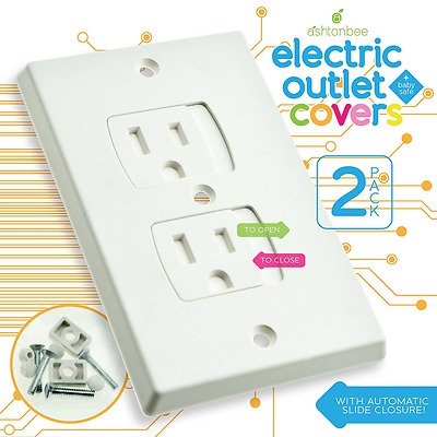 Child Safety Electrical Outlet Covers for Baby Proofing - Best Childproofing Sel