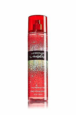 BATH & BODY WORKS A Thousand Wishes Fine Fragrance Body Spray Mist Made USA